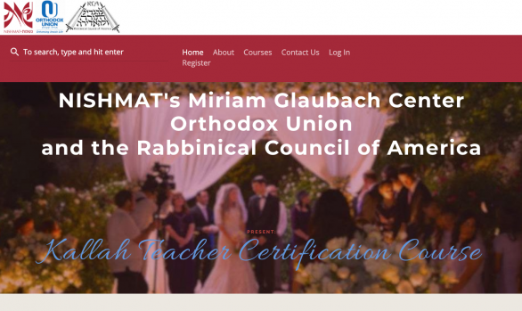Nishmat, OU, RCA Kallah Teacher Certification Course